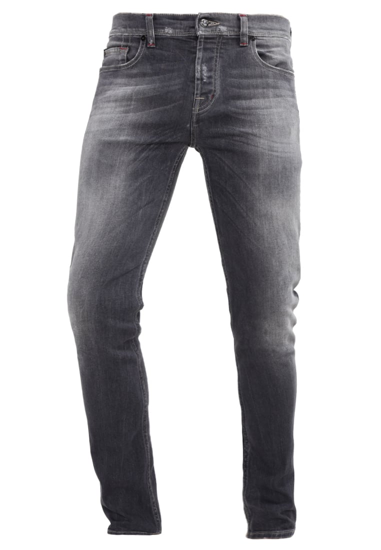 7 for all mankind CHAD Jeansy Slim fit dark grey - SD3R38KBN