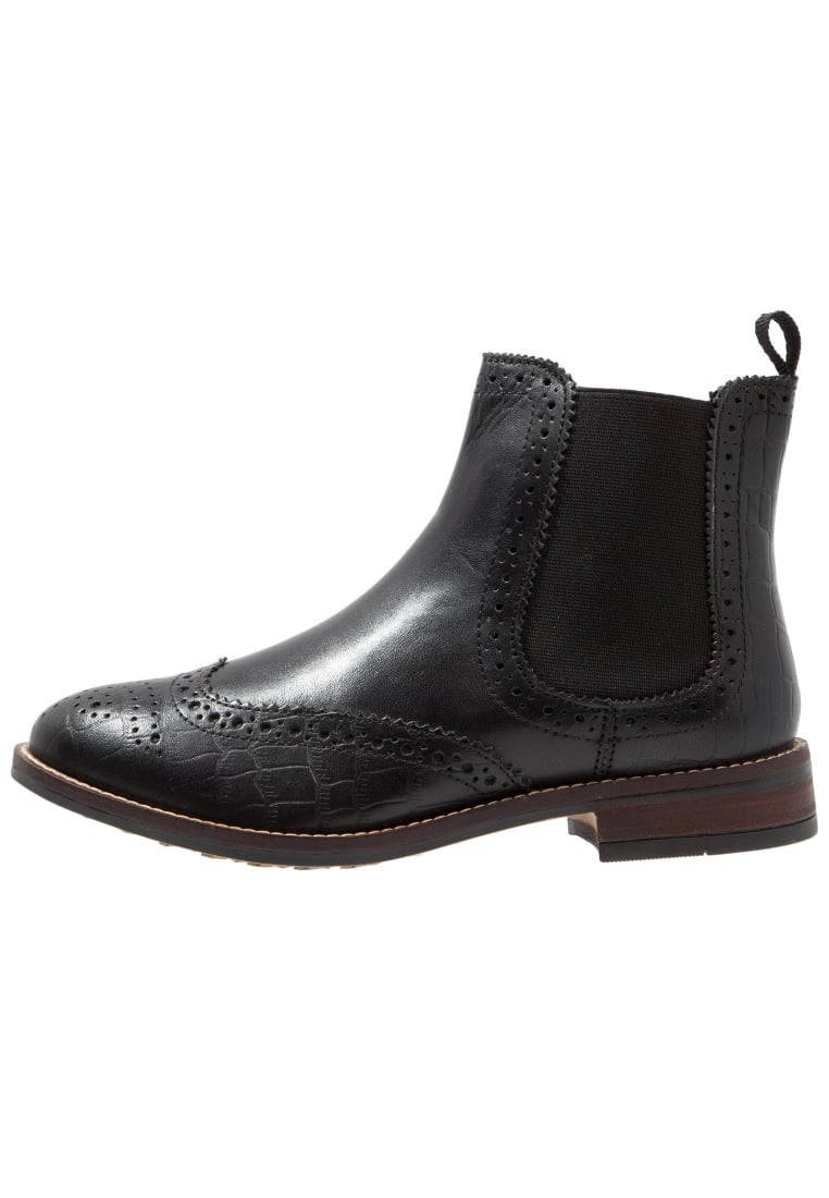 Dune London WIDE FIT WIDE FIT QUENTONS Ankle boot black - 1178506690002484