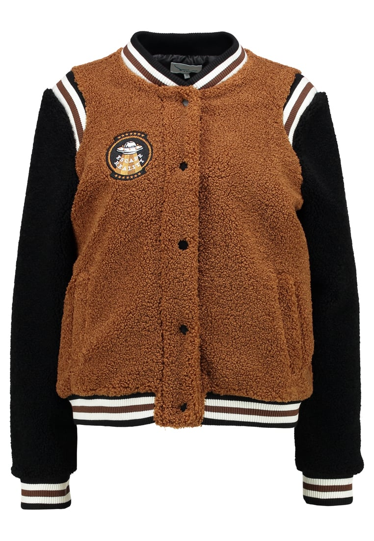 TWINTIP NEW COLLEGE TEDDY Kurtka Bomber brown
