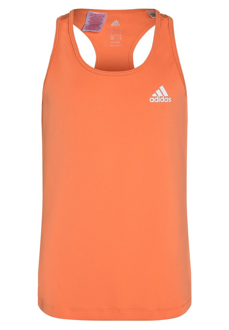 adidas Performance GEAR UP Top easy orange/white - NEF53