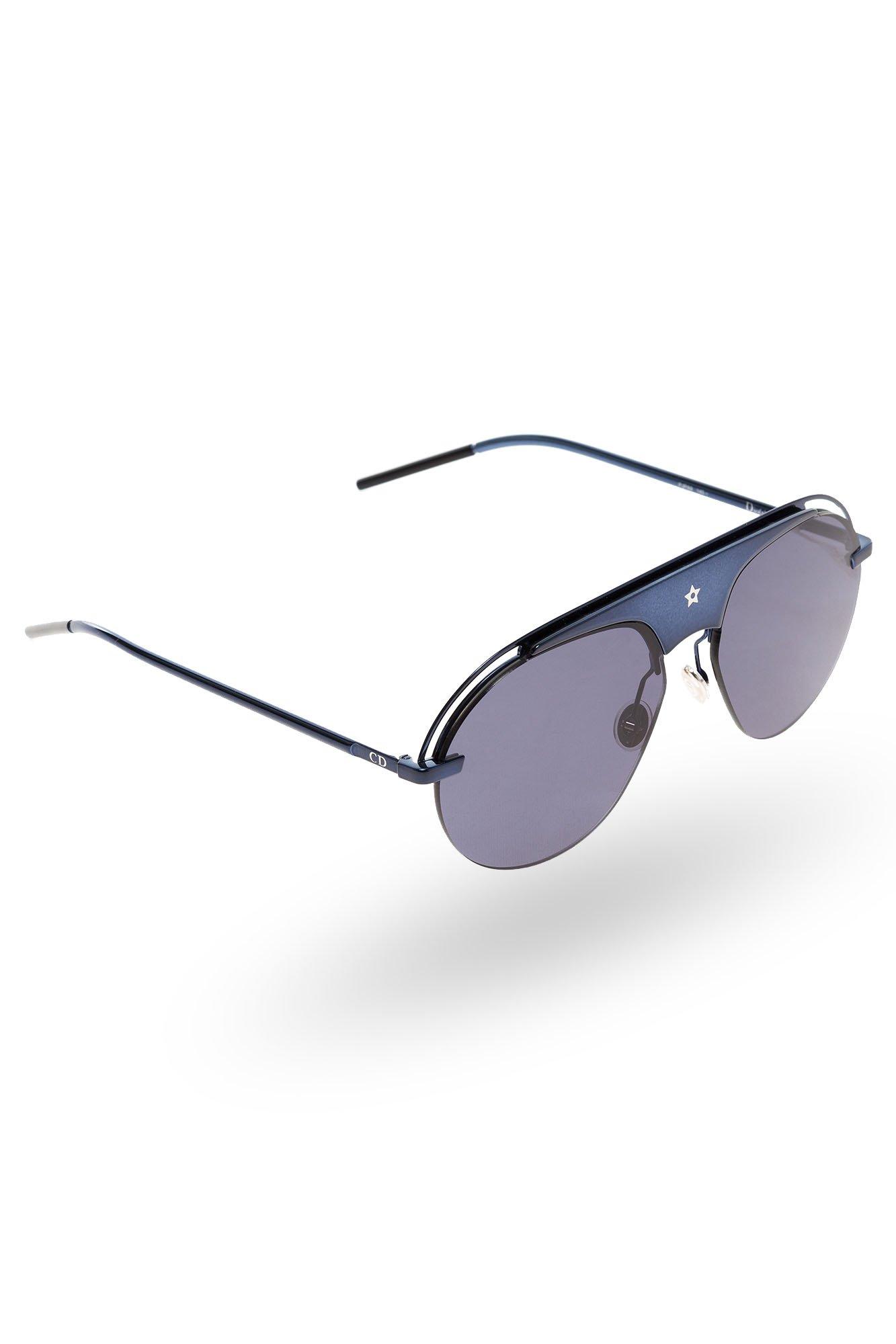 Granatowe okulary damskie Dior rozmiar Uniwersalny