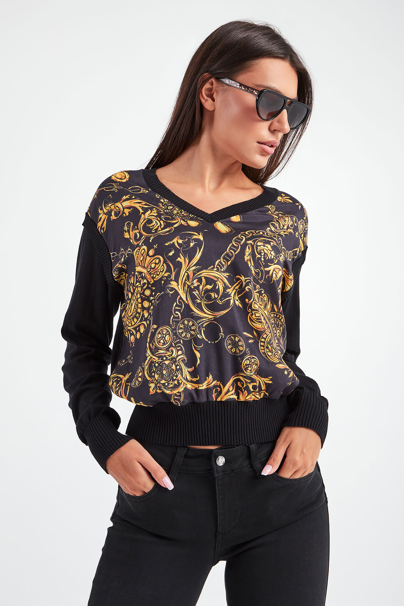 SWETER VERSACE JEANS COUTURE rozmiar S