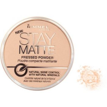 Puder Rimmel Stay Matte Pressed Powder Puder 009 - amber 14 g