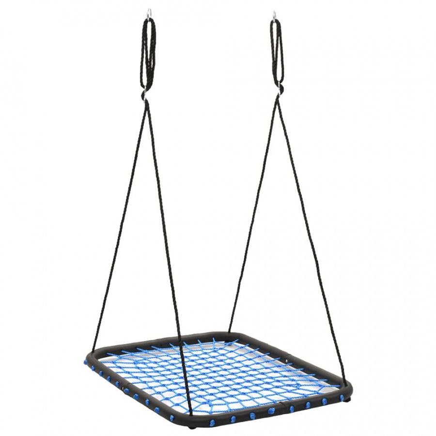 Huśtawka 104×76 cm, 200 kg, niebieska