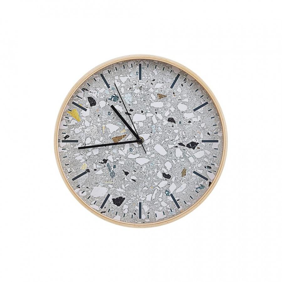 Zegar ścienny ø 31 cm szary GORDOLA