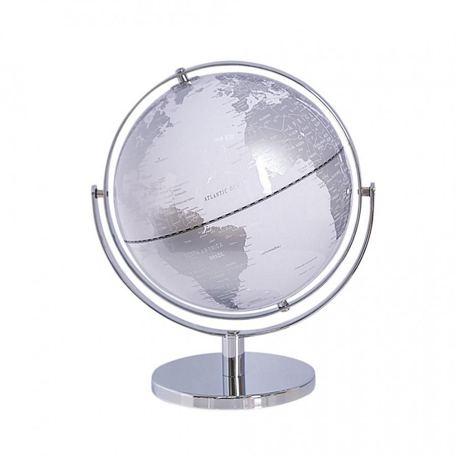 Globus srebrny DRAKE