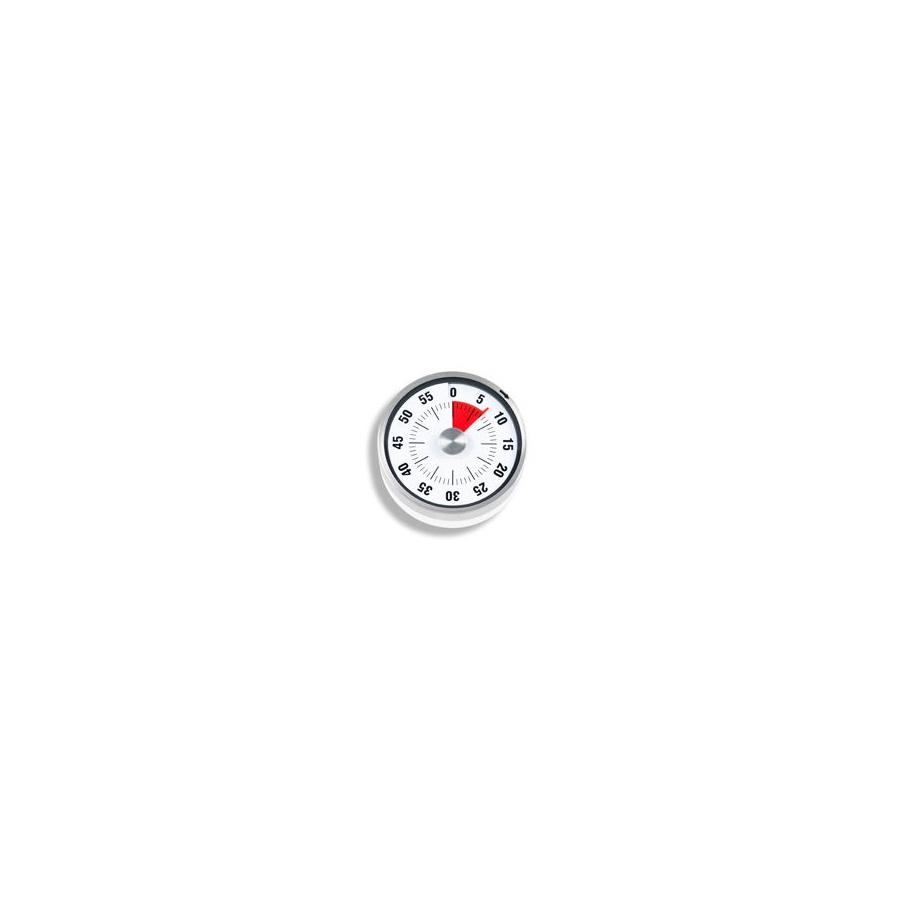 Minutnik mechaniczny 8x3cm ADE biały