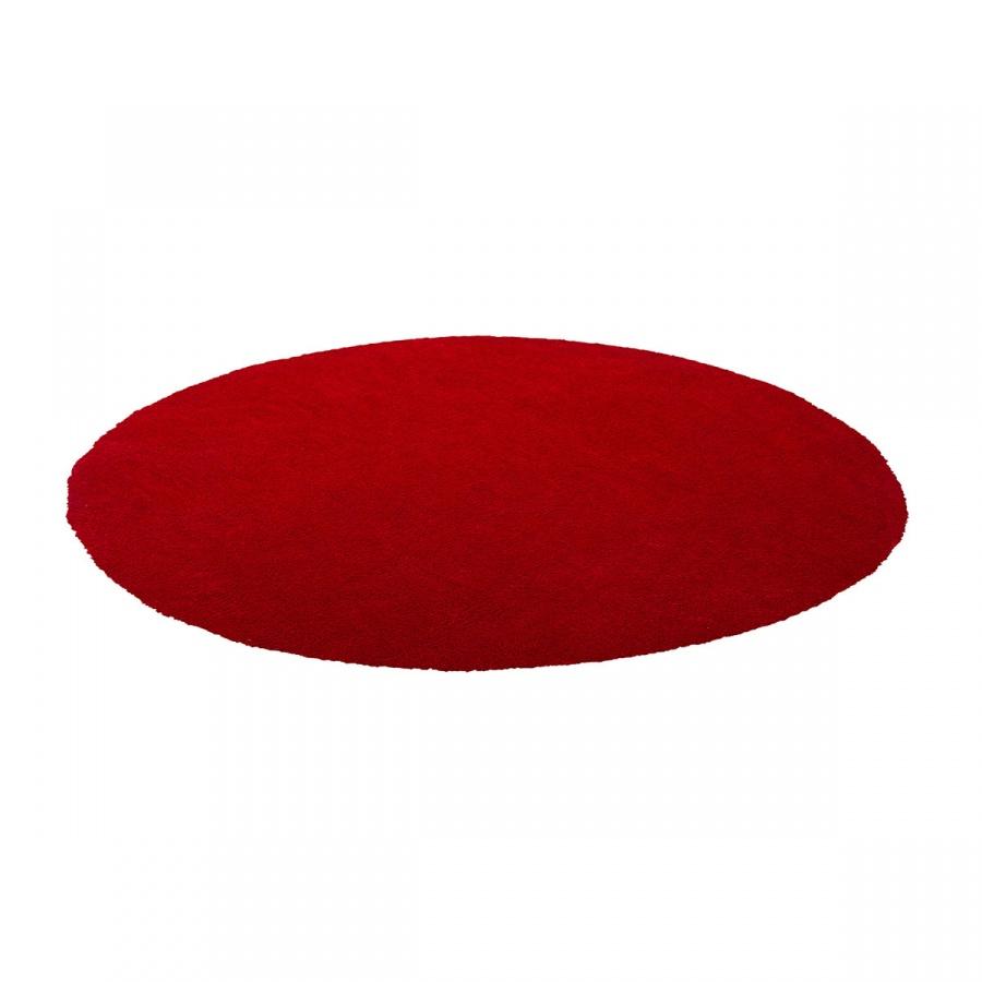 Dywan czerwony ø140 cm DEMRE