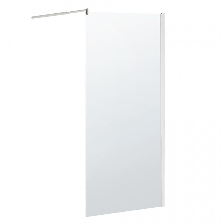 Ścianka prysznicowa szkło hartowane 90 x 190 cm AHAUS