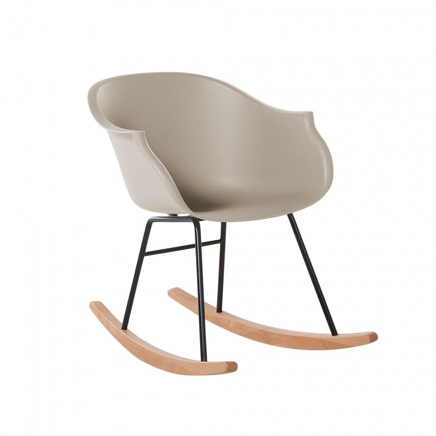 Fotel bujany beżowy Feliciano BLmeble