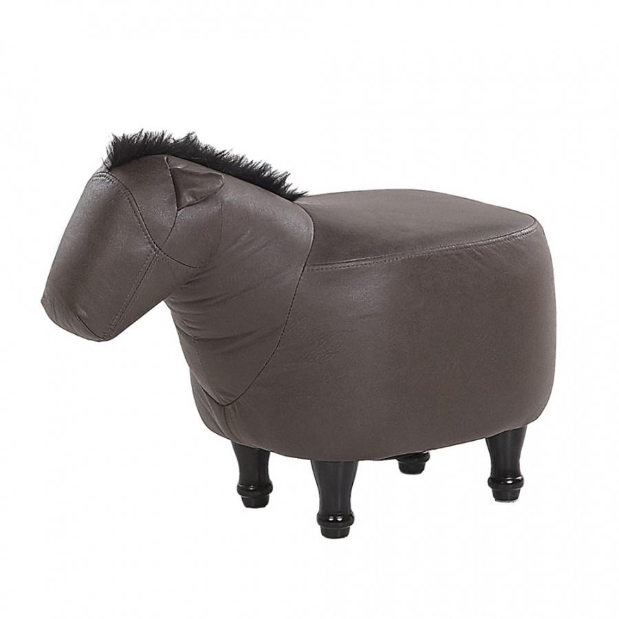 Pufa zwierzak ciemnobrÄ…zowa HORSE
