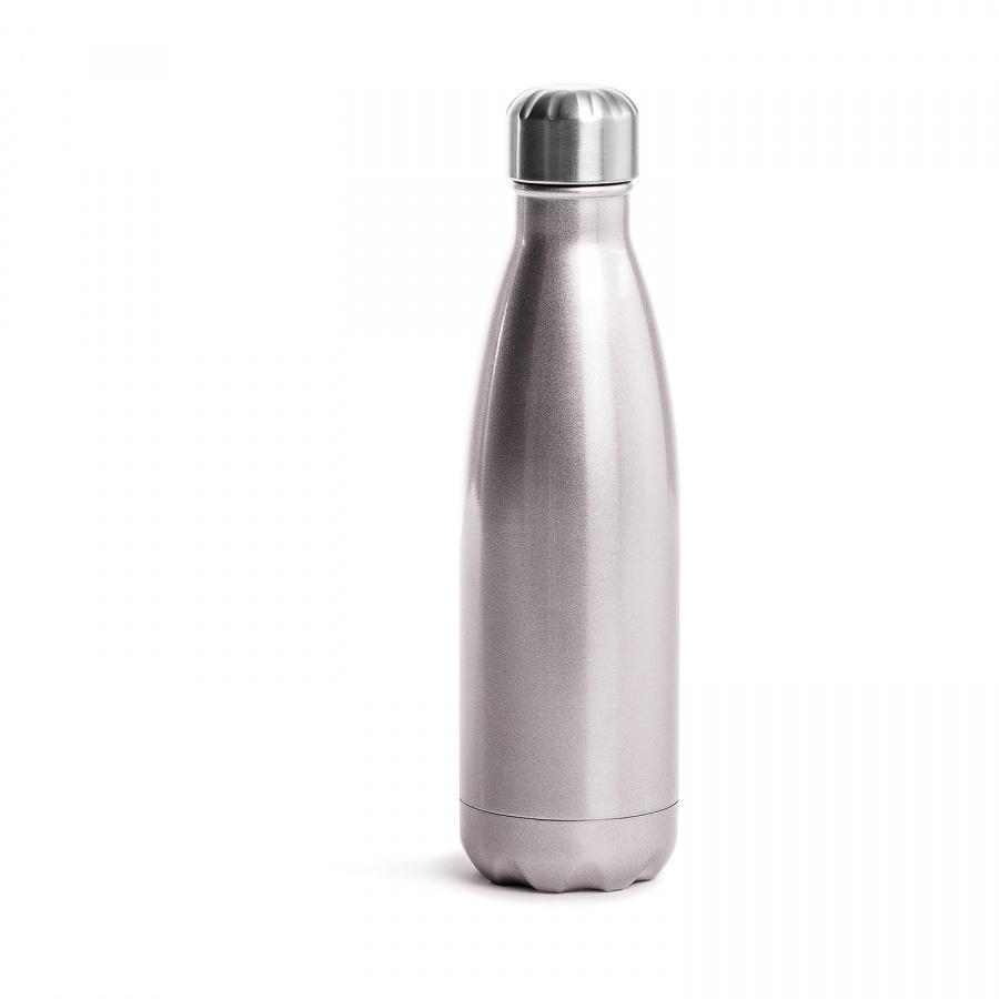 Butelka termiczna 500 ml Sagaform Outdoor różowa stalowa