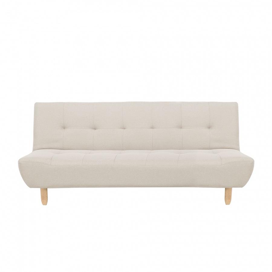 Sofa trzyosobowa tapicerowana beżowa Ventuno BLmeble