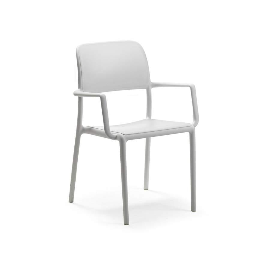 Krzesło Riva Nardi białe