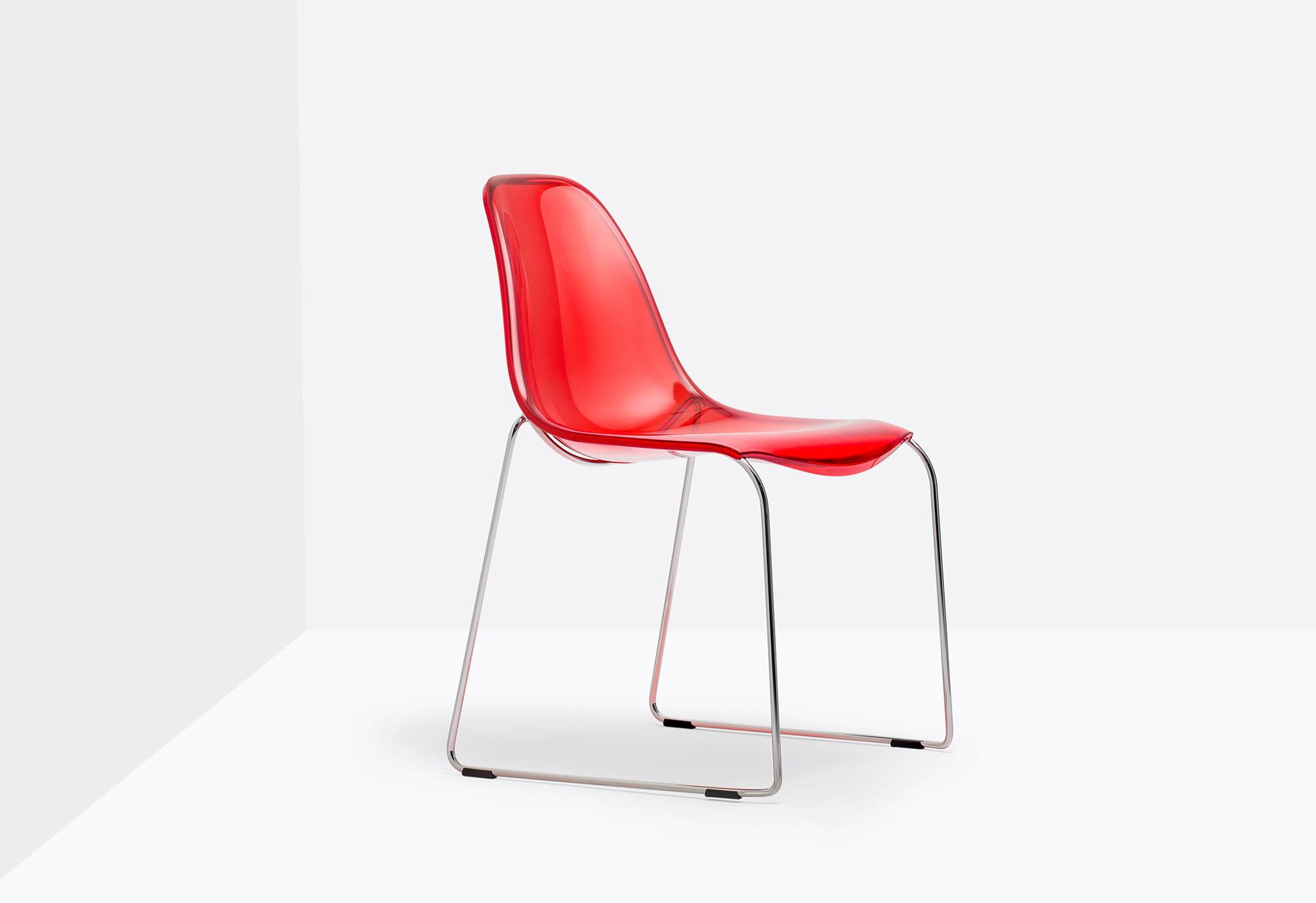 Pedrali Krzesło Day Dream Czerwone