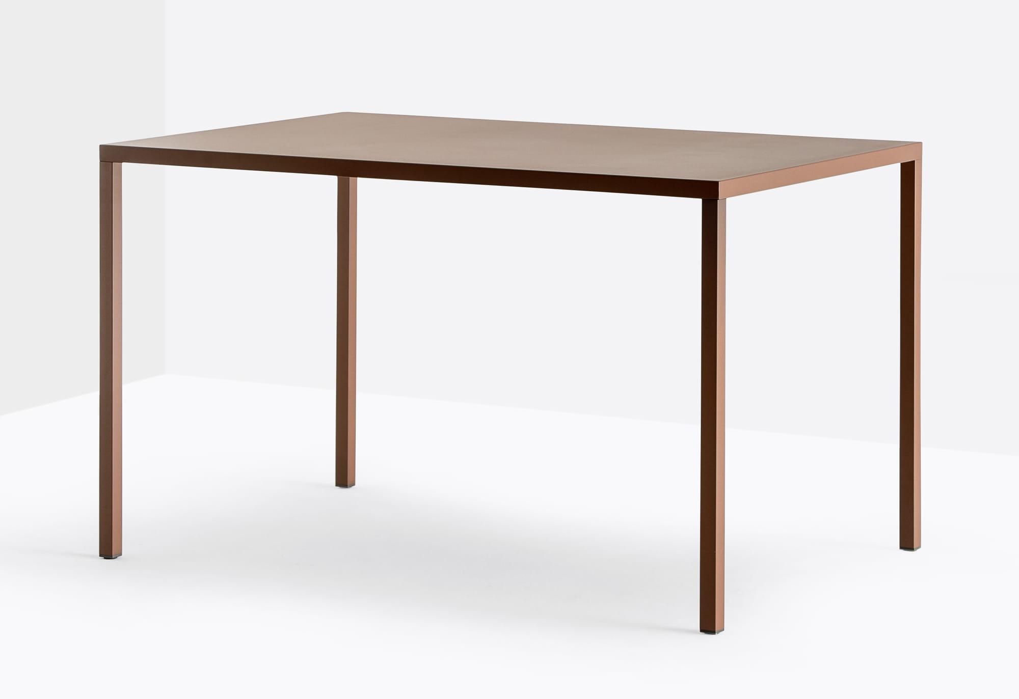 Pedrali St贸艂 Fabbrico 70×70 cm RUE Miedziany