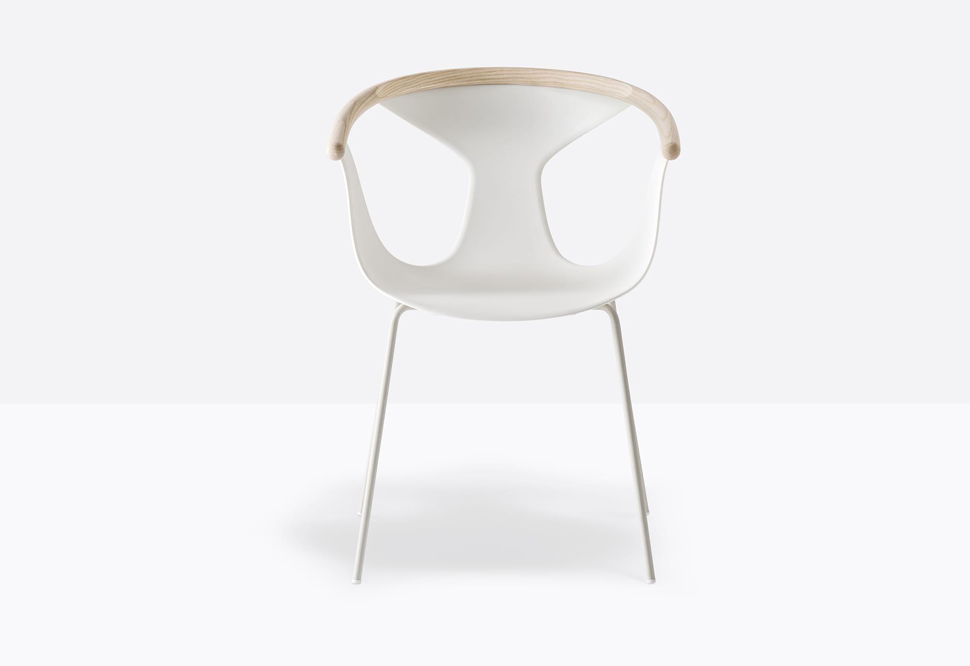 Pedrali Krzesło Fox 3726 BI Biały