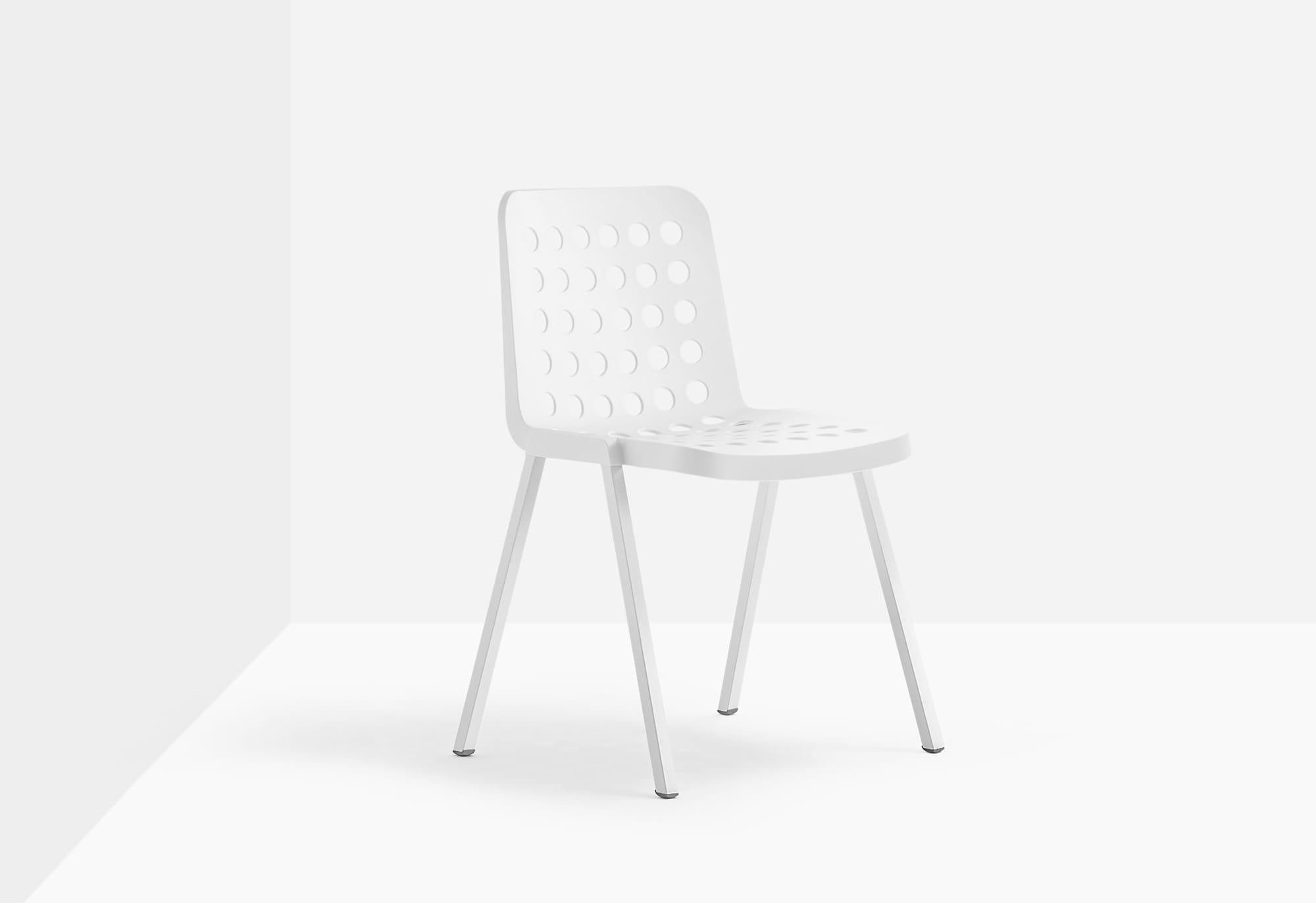 Pedrali Krzesło Koi-Booki Biały