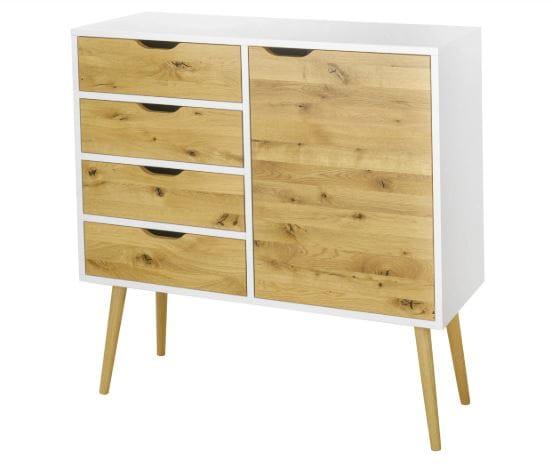 Moon Wood Komoda Box 4 szuflady