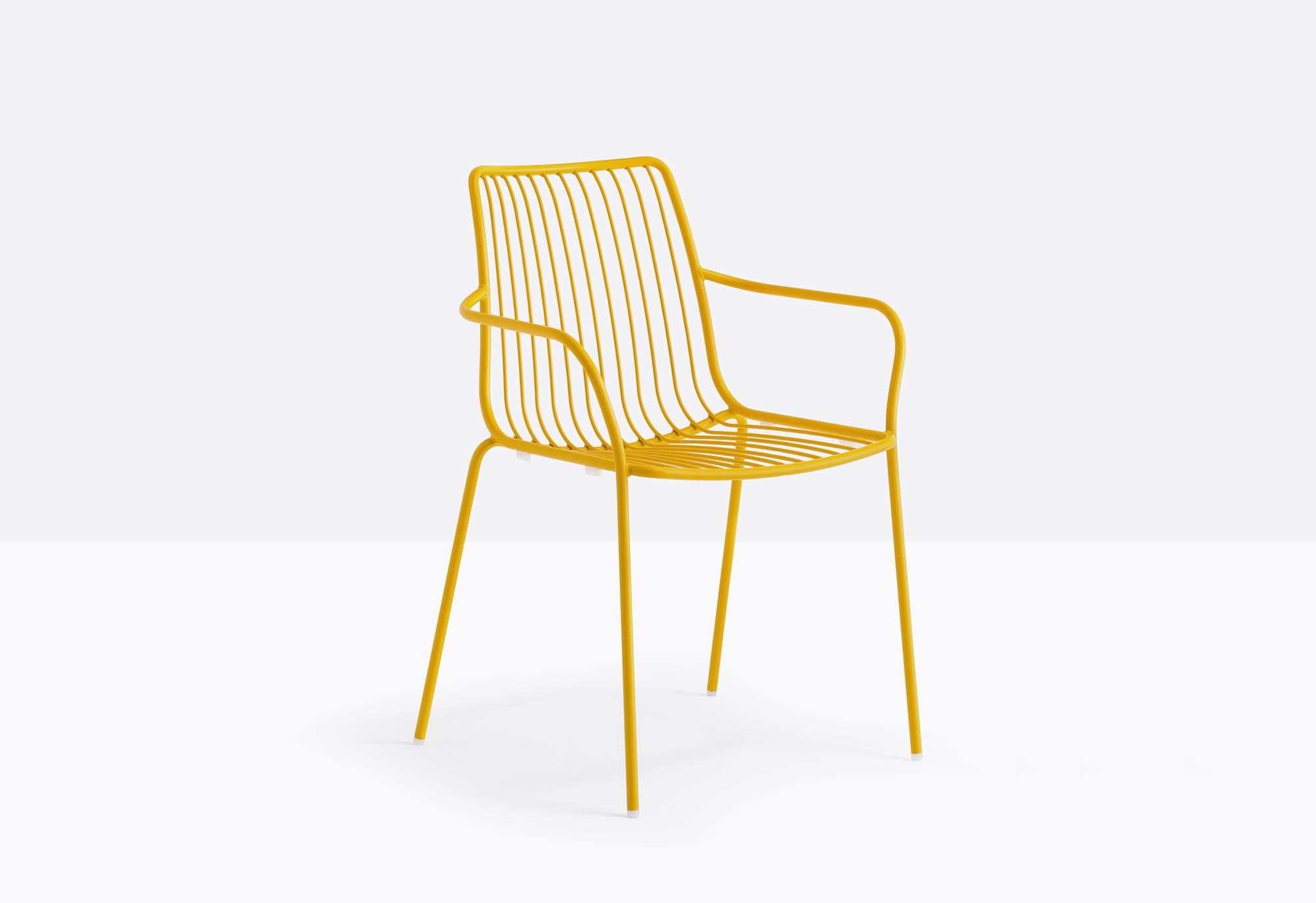 Pedrali Krzesło Nolita 3656 Pomarańczowy