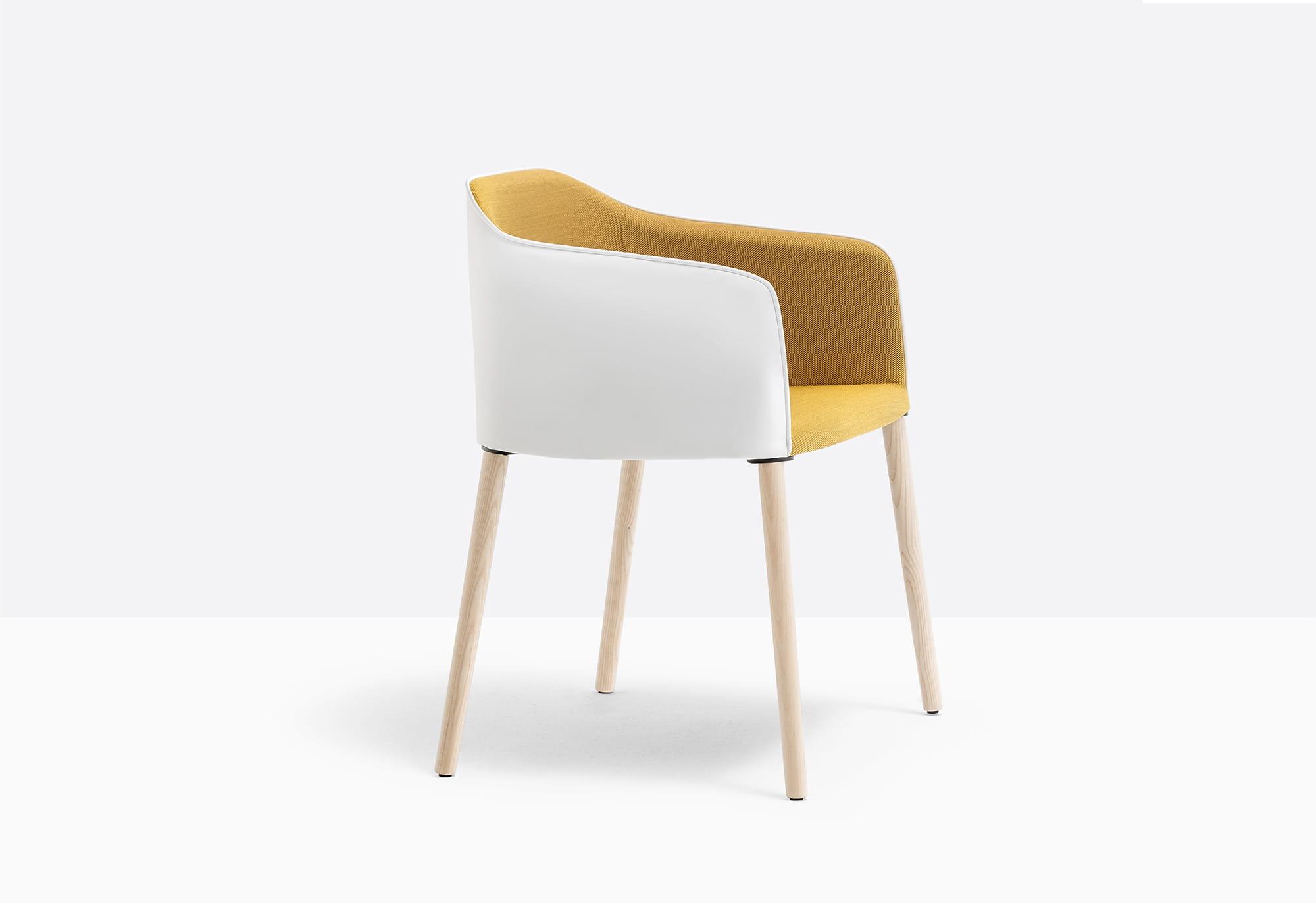 Pedrali Krzesło Laja 884 FR Naturalny jasny
