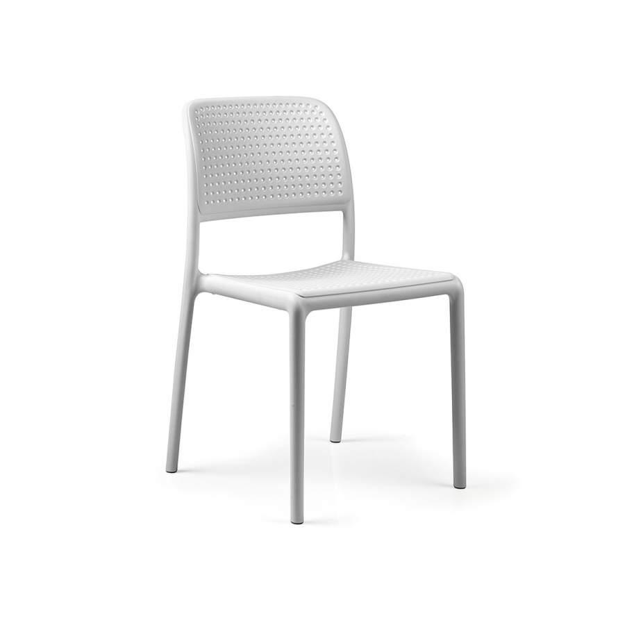 Krzesło Bora Bistrot Nardi białe