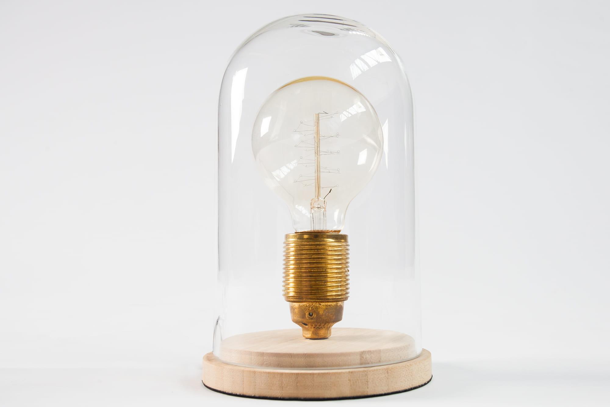 Lampa biurkowa Edison Retro