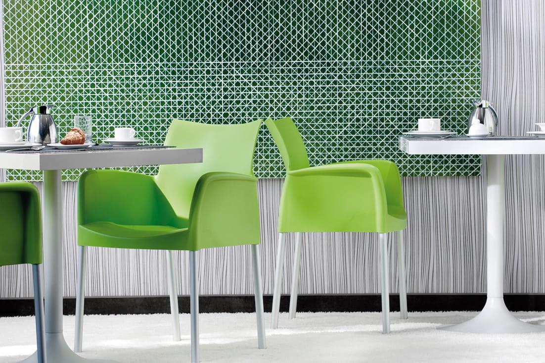 Pedrali Krzesło Ice 850 Zielony