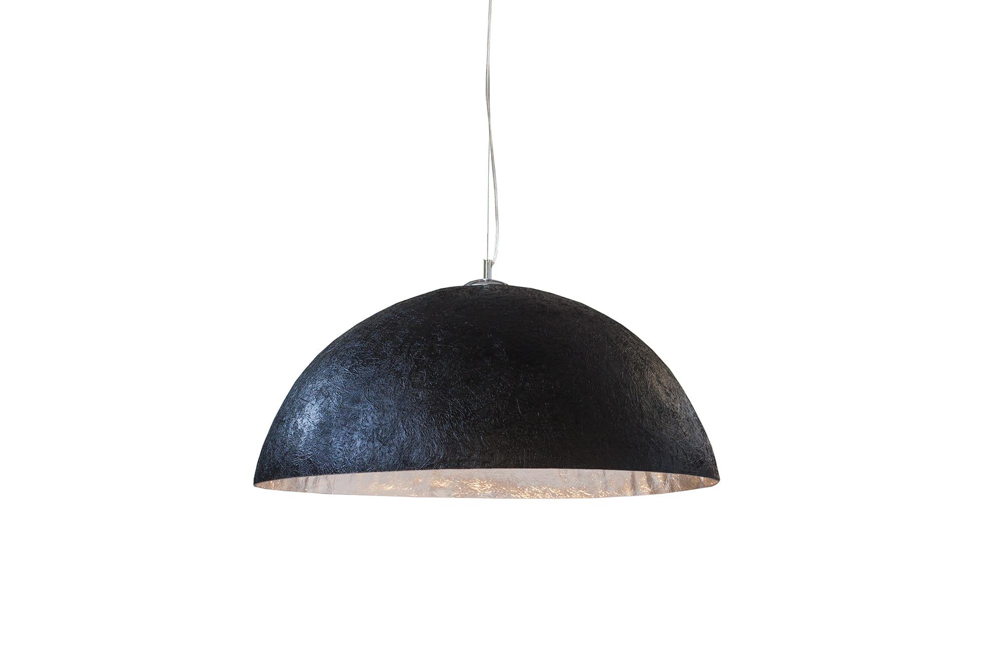 Lampa wiszÄ…ca Sinus czarno-srebrna 50 cm