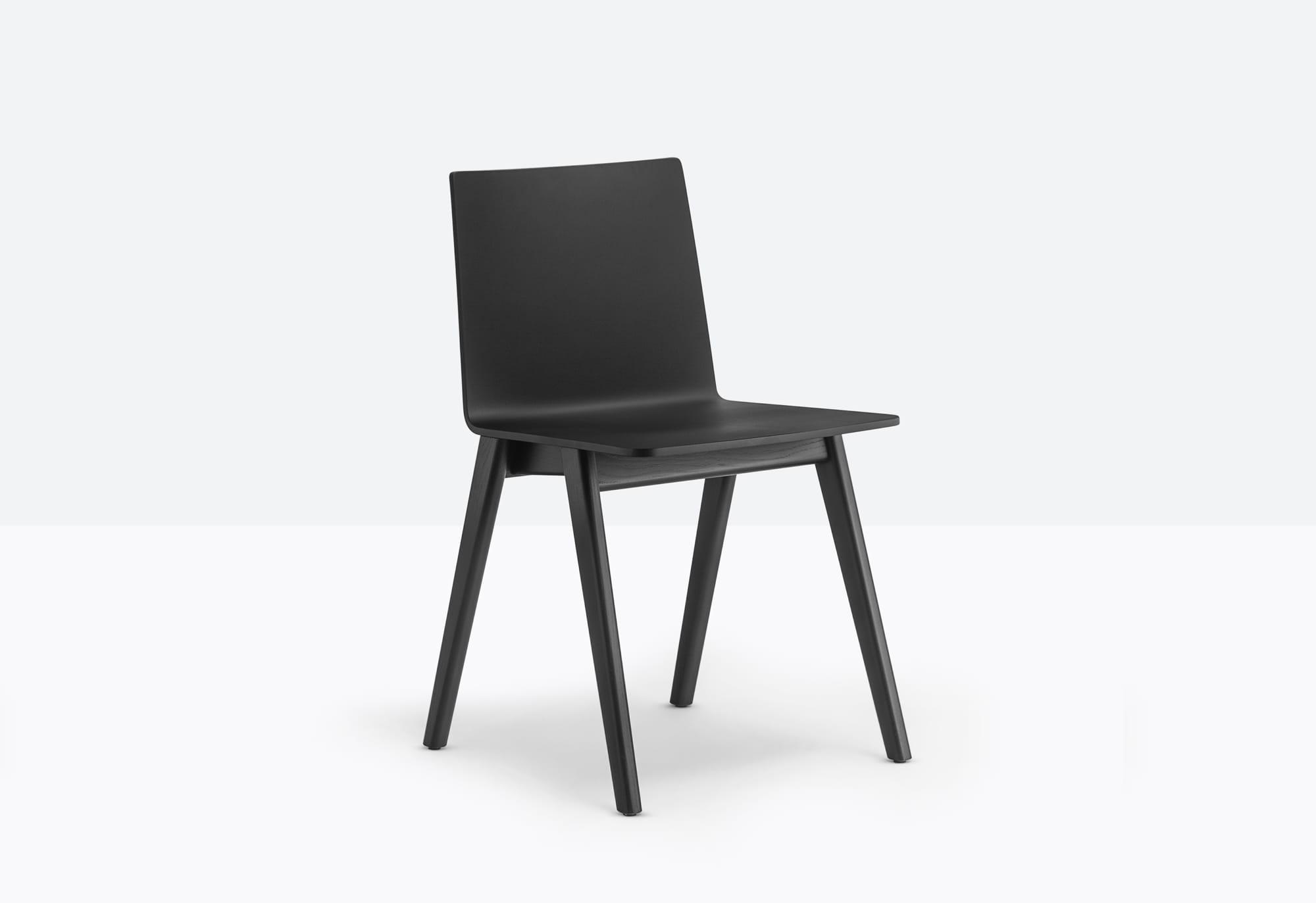 Pedrali Krzesło Osaka 2810 MO Brązowy ciemny