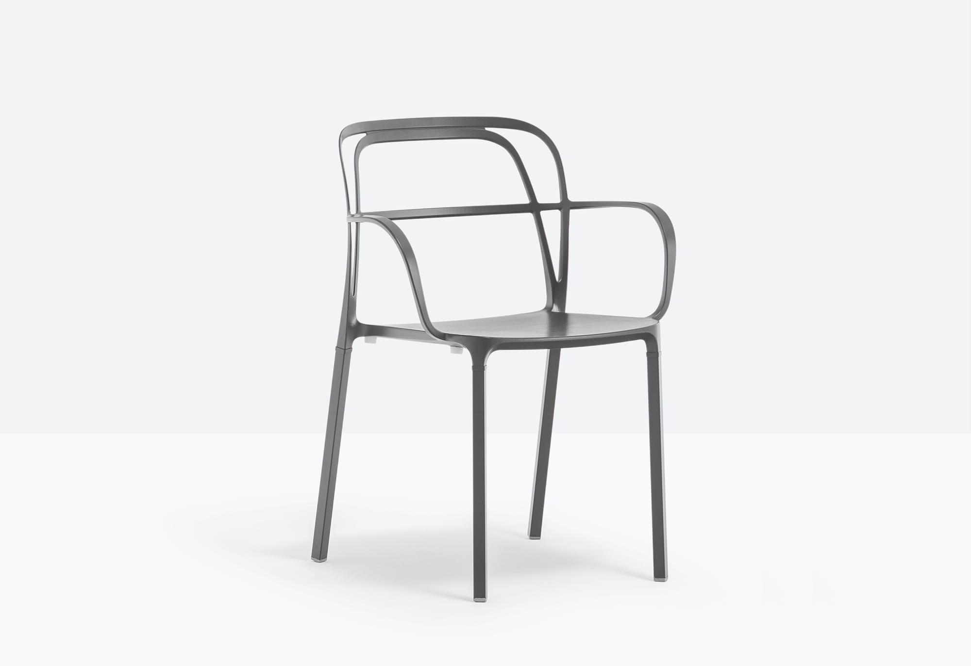 Pedrali Krzesło Intrigo Antracyt