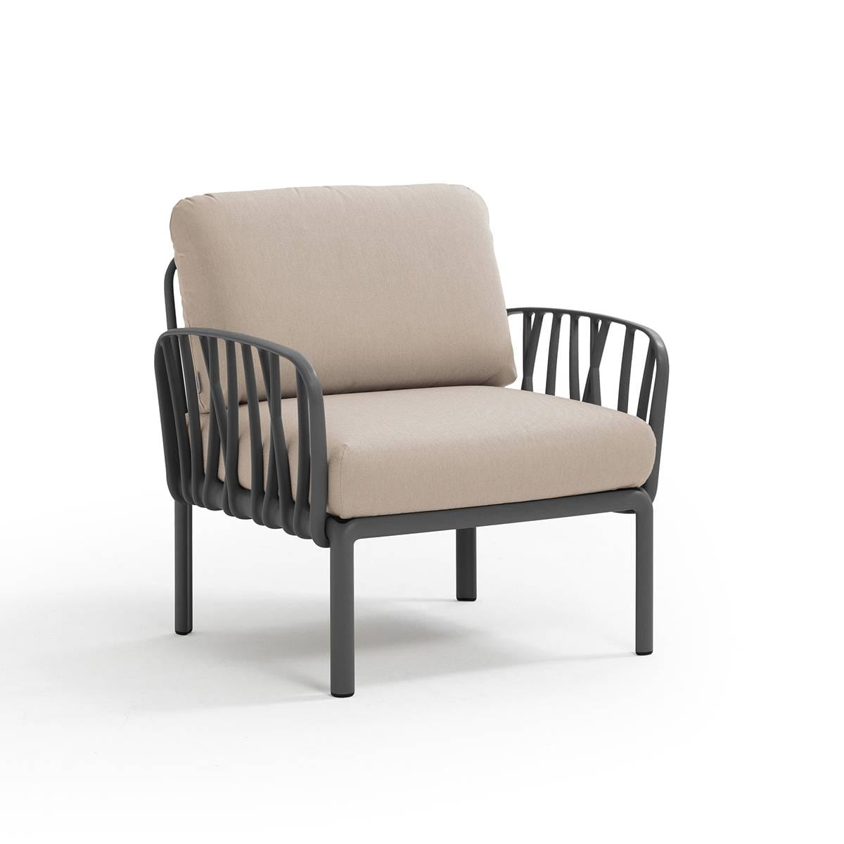 Nardi Sofa Komodo Poltrona Antracyt-Canvas