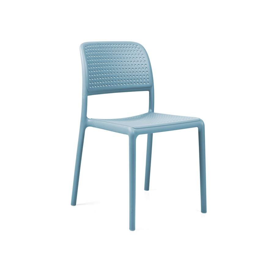 Krzesło Bora Bistrot Nardi niebieskie