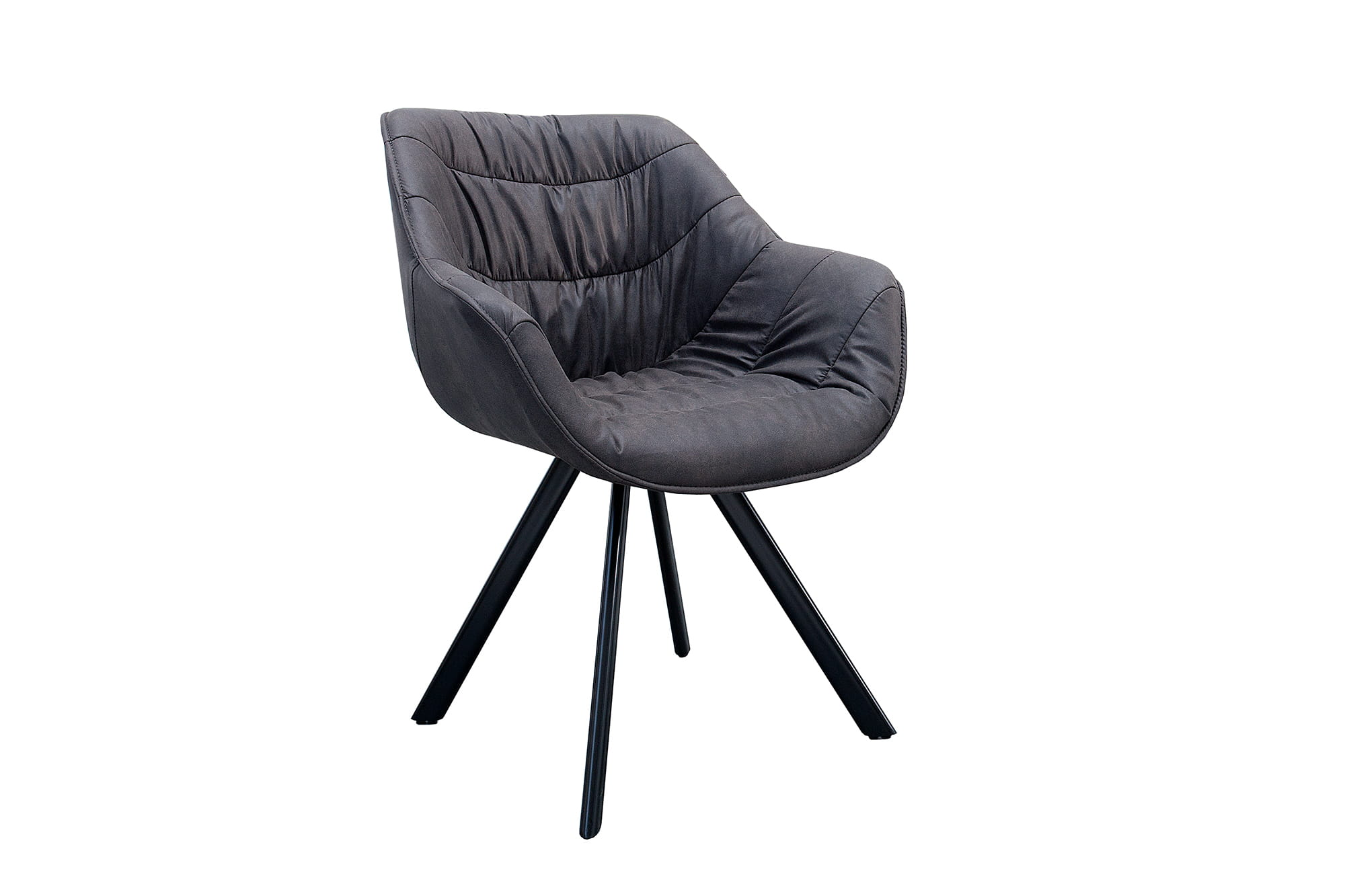 Krzesło Comfy Living szare