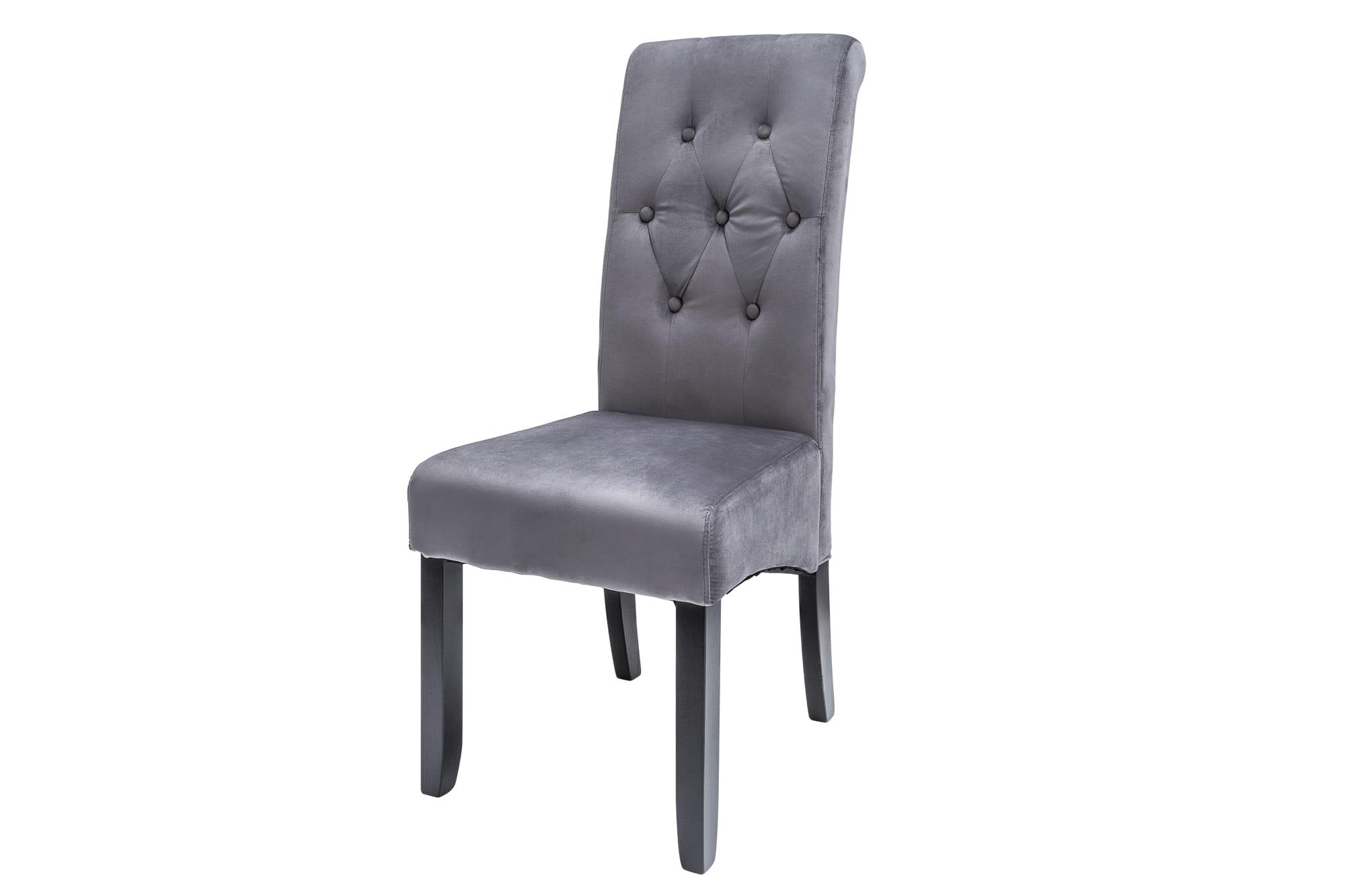 Krzesło As szary-czarny