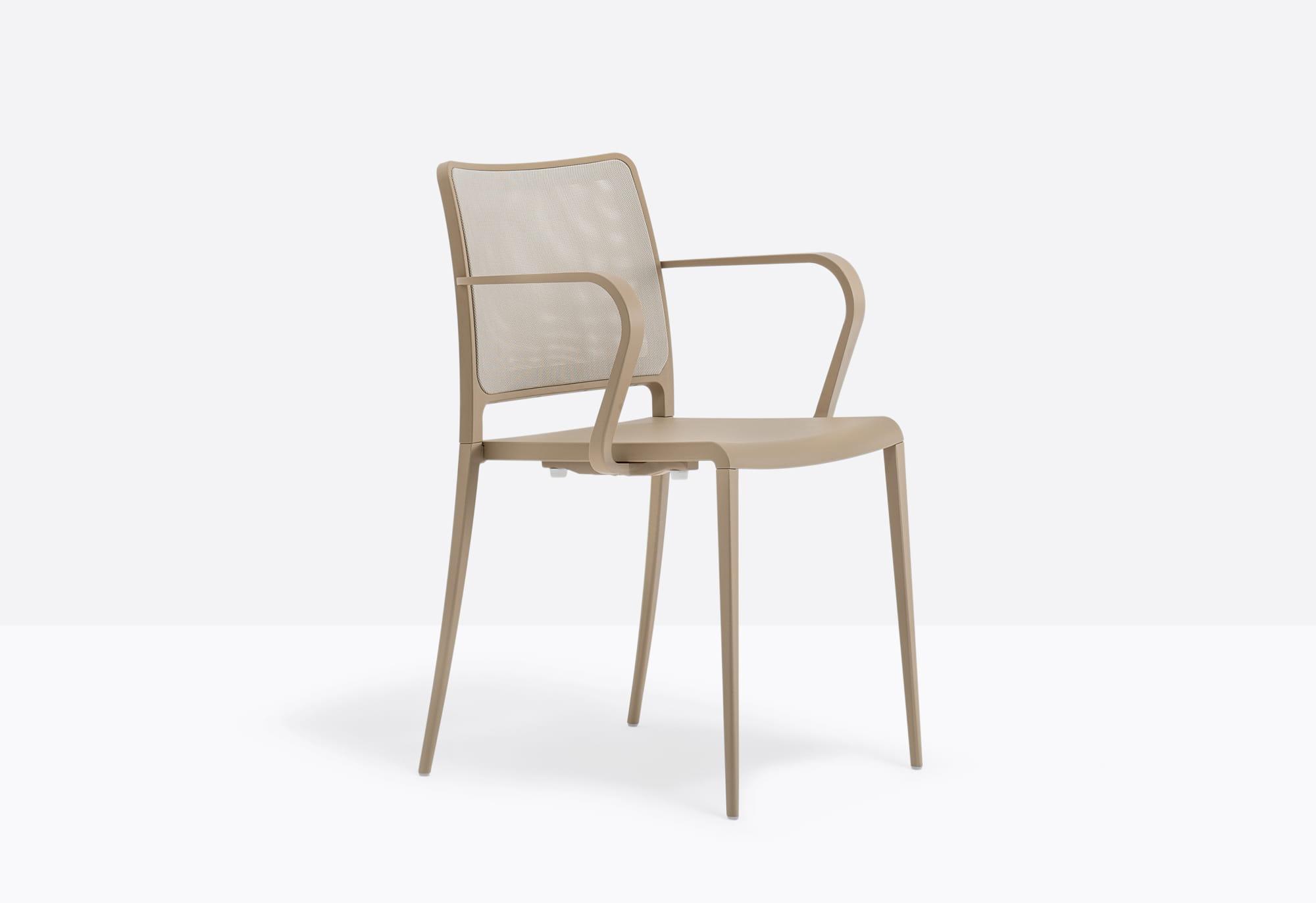 Pedrali Krzesło Mya 706/2 SA2 Beżowy