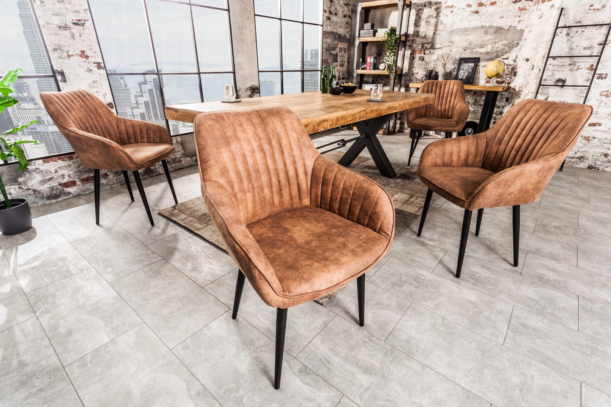 Krzesło Nitro jasnobrązowe