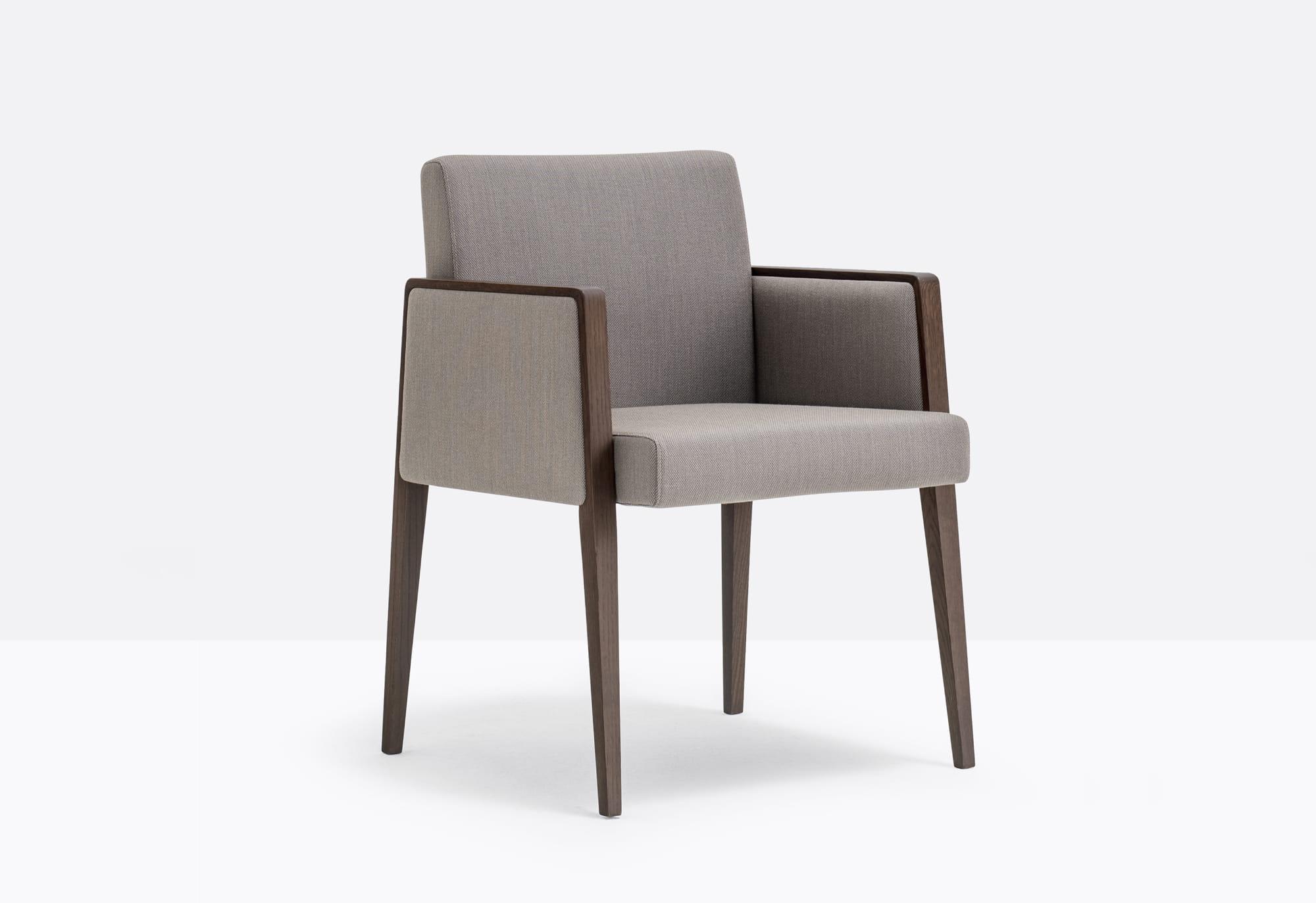 Pedrali Krzesło Jil 525 W Brązowy