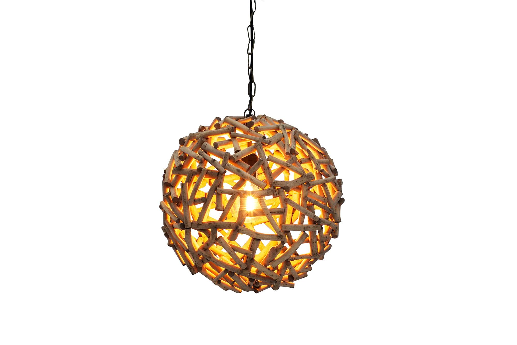 Lampa wiszÄ…ca Organic Nature 40 cm