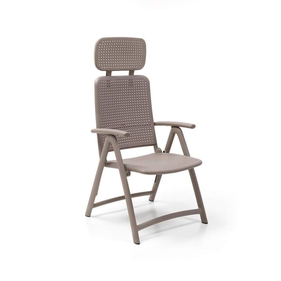 Nardi Krzesło Acquamarina kawowy