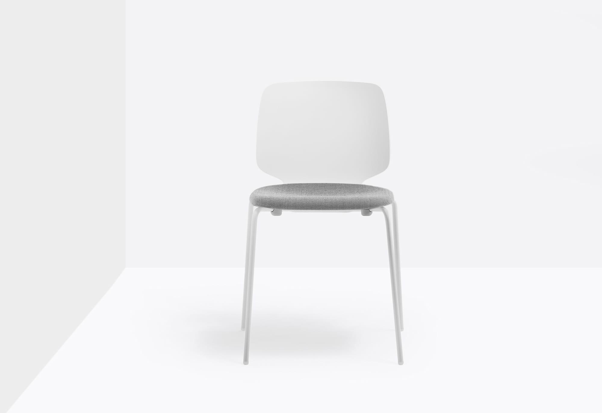 Pedrali Krzesło Babila Biały z poduszką