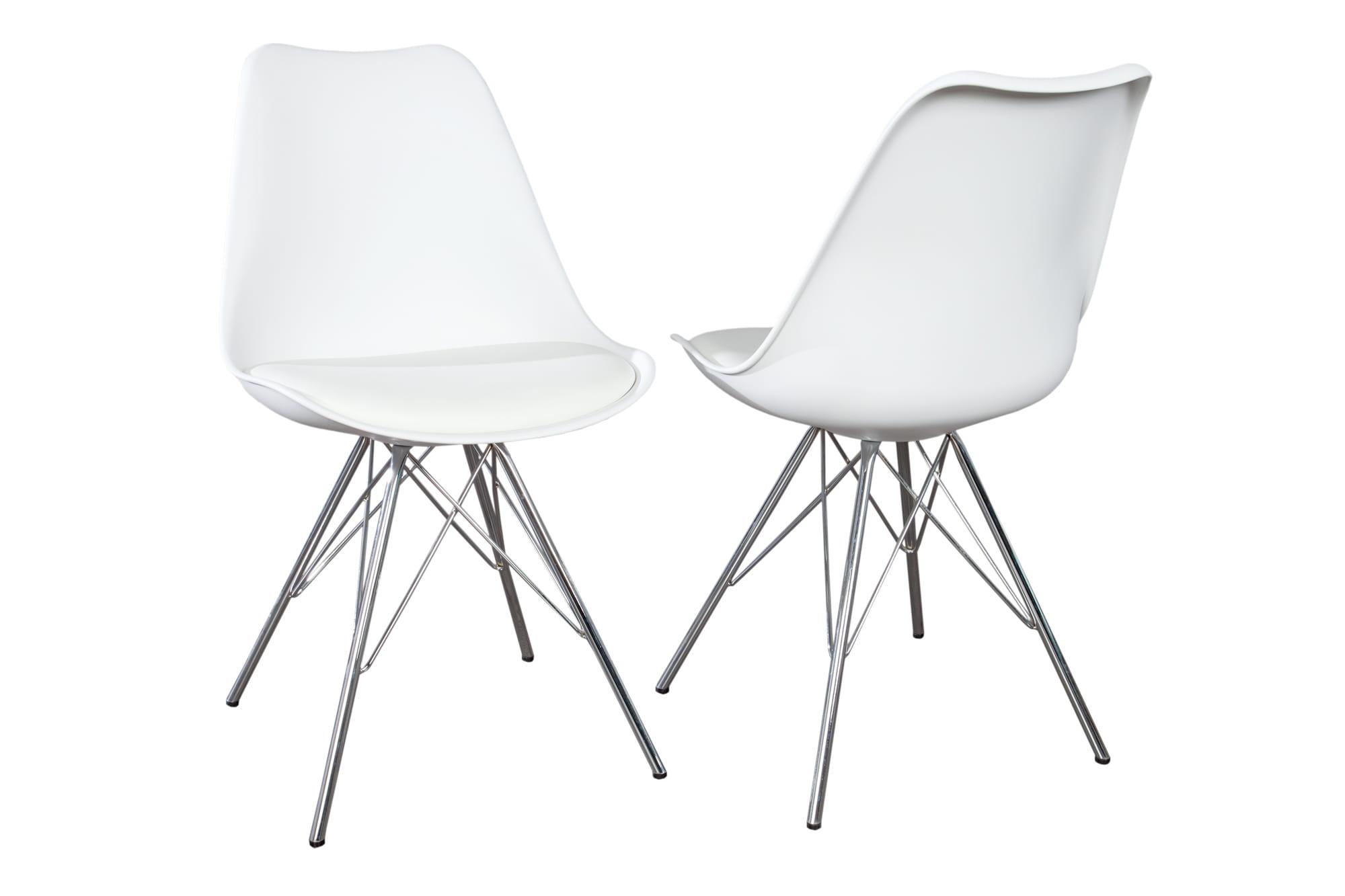 Krzesło Northern białe