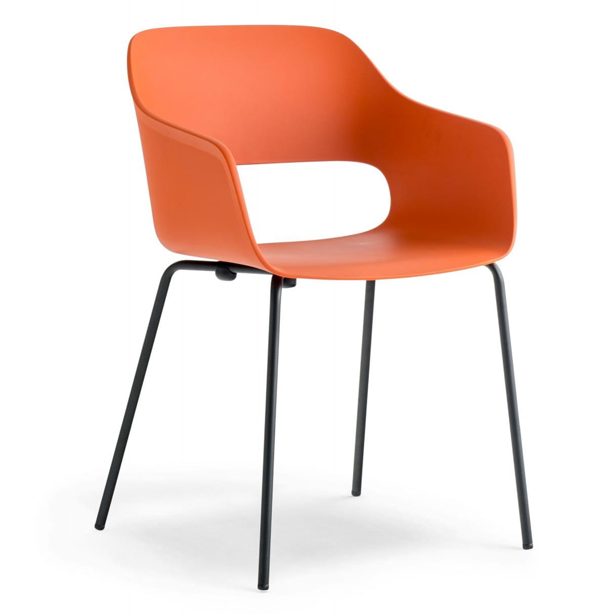 Pedrali Krzesło Babila 2735 Pomarańczowy