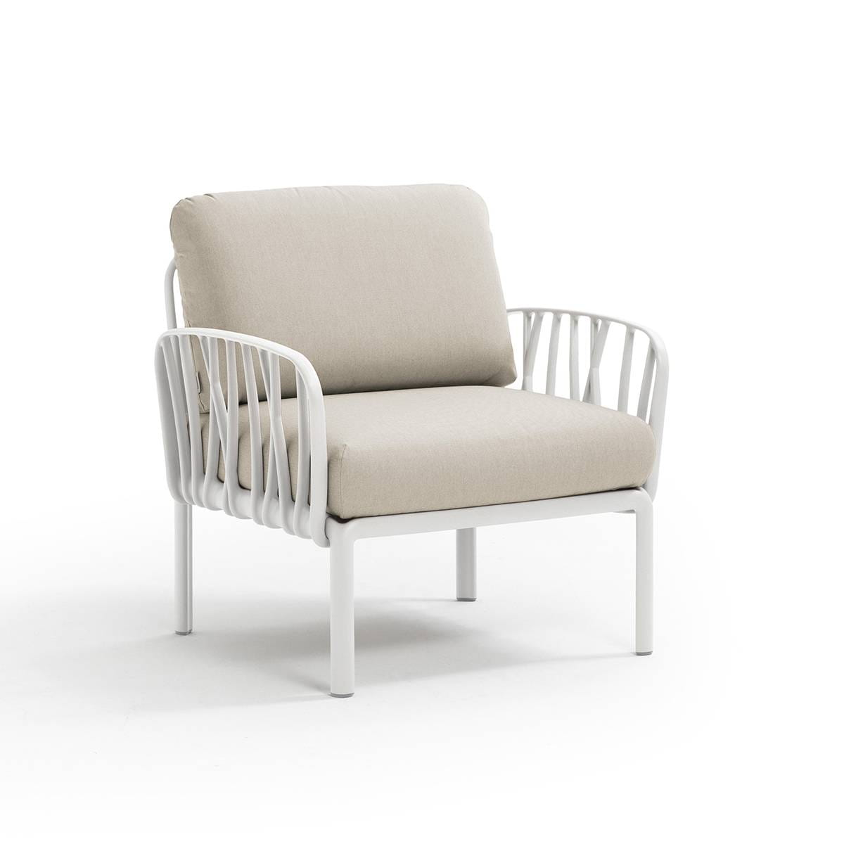 Nardi Sofa Komodo Poltrona Bianco-Panama