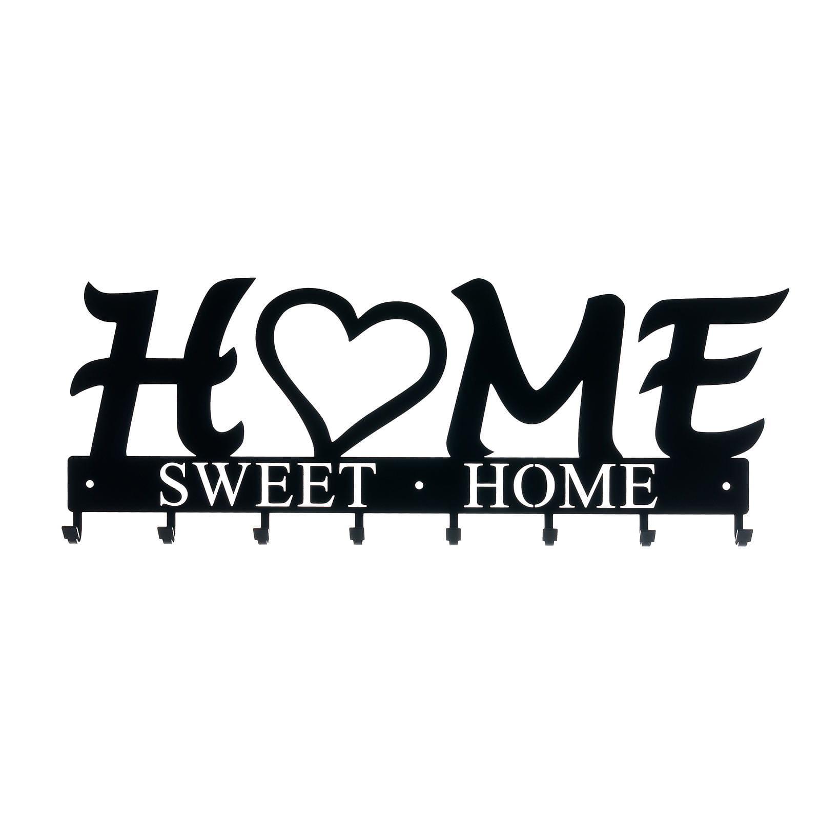 Wieszak Å›cienny Home Sweet Home 02 czarny