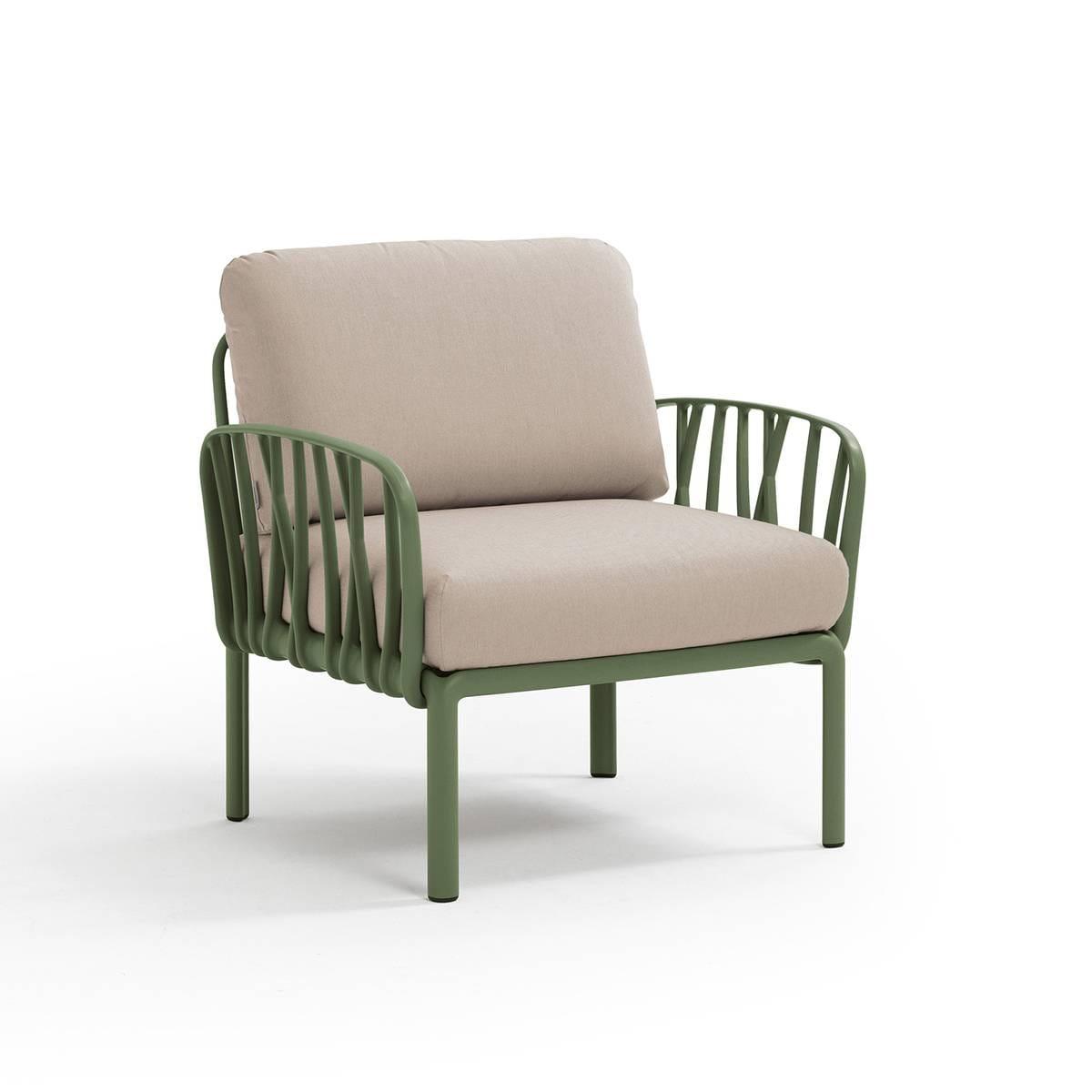 Nardi Sofa Komodo Poltrona Agave-Canvas
