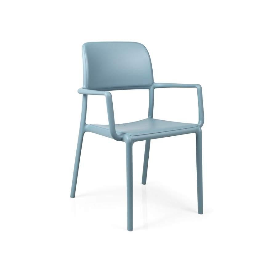 Krzesło Riva Nardi niebieskie