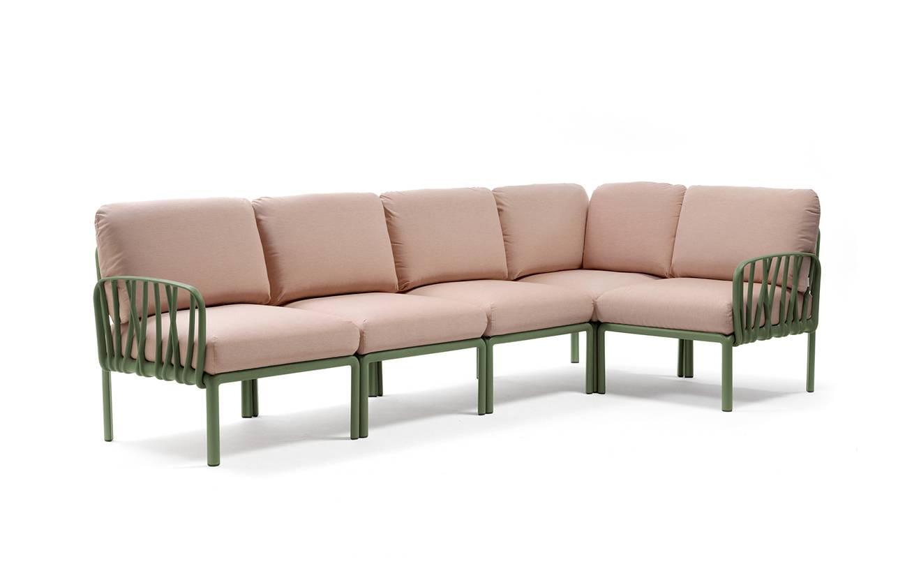 Nardi Sofa Komodo 5 Agave-Rosa