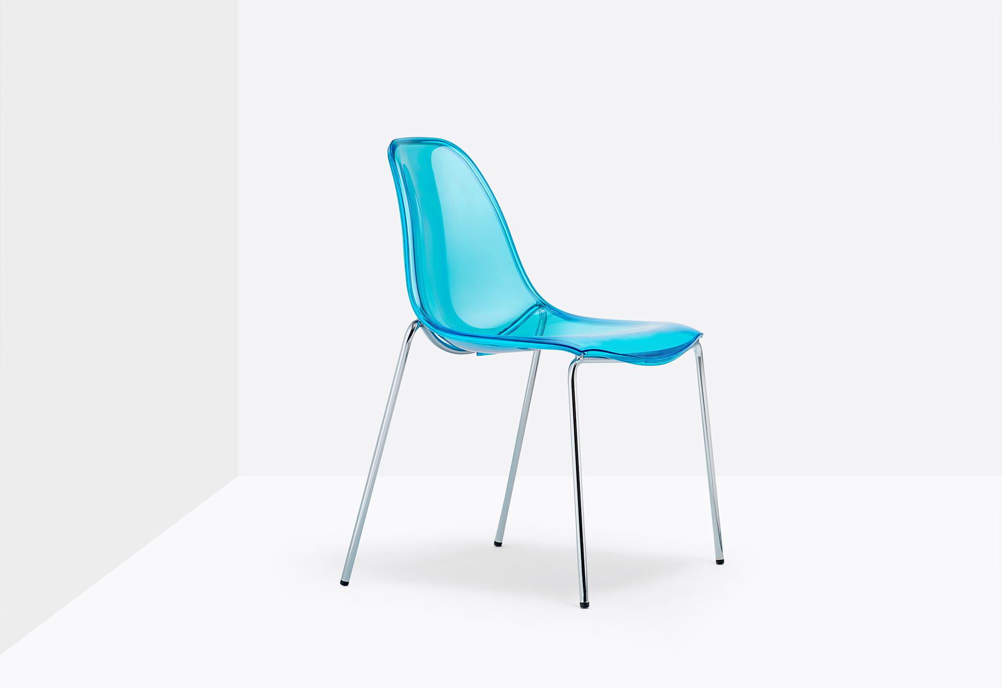 Pedrali Krzesło Day Dream 405 Niebieskie