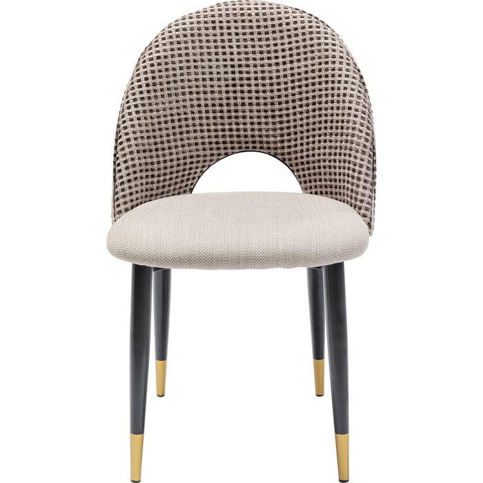 Kare Krzesło Hudson beżowe